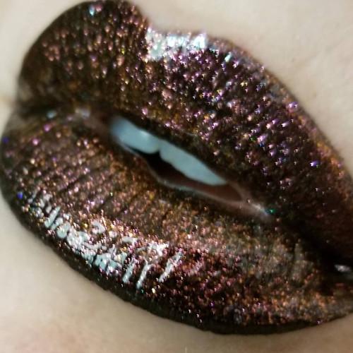Volcano Ghoul duochrome lip gloss (LE)