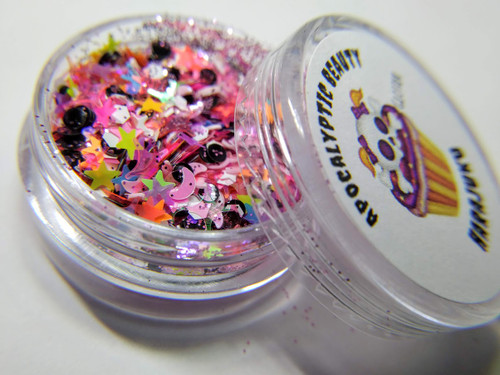Harajuku - vibrant multi-colored chunky glitter blend