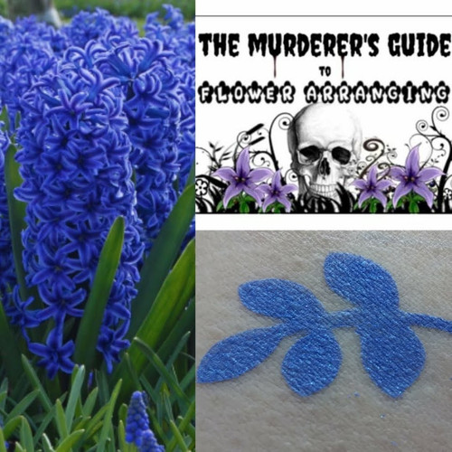 Hyacinth- regal shimmering blue eyeshadow