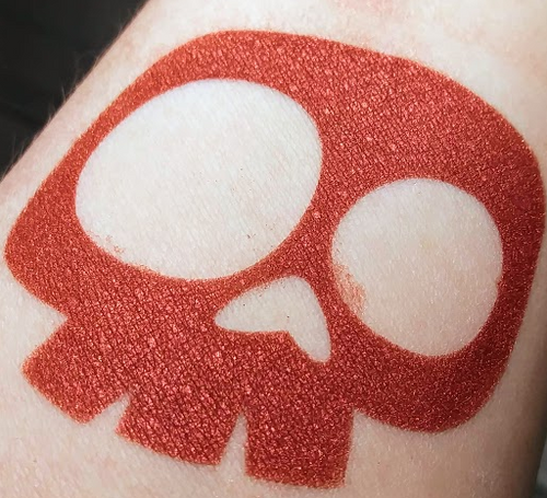 Beach Blanket Bloodshed - metallic copper-red eyeshadow (LE)