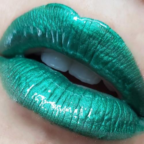 Soylent Green - B-movie inspired green lip gloss
