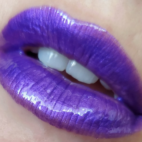 The Purple Monster Strikes - B-movie inspired purple lip gloss