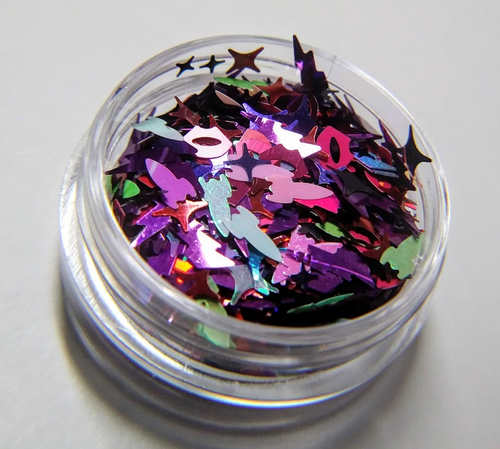 Lost in Time, Space, and Meaning (LE) - sexy space glitter blend