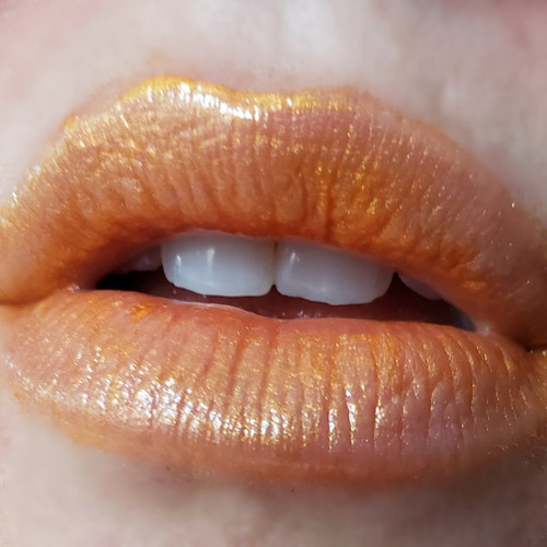 Atomic Beast - B-movie inspired orange lip gloss