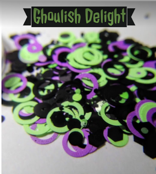 Ghoulish Delight (LE) - chunky glitter blend