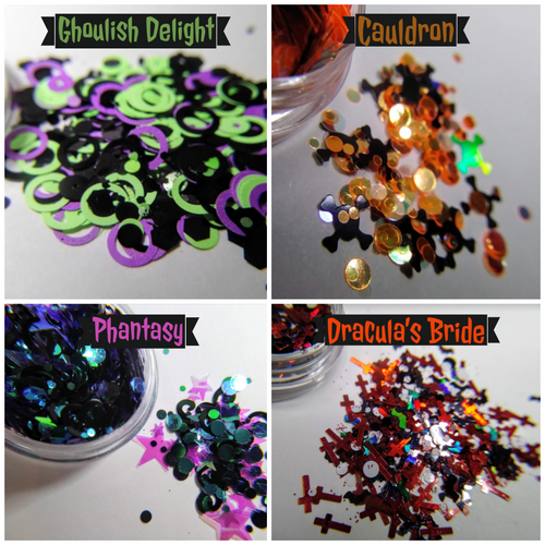 Halloween 2019 Glitter Collection (LE) - set of 4