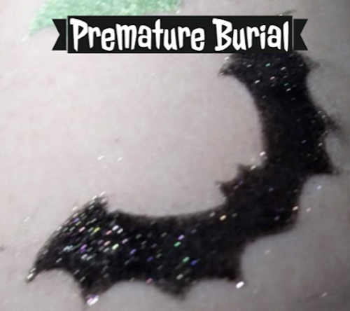 Premature Burial (LE) - black eyeshadow with shifting sparkle