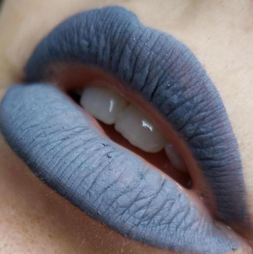 Ennui grey liquid lipstick