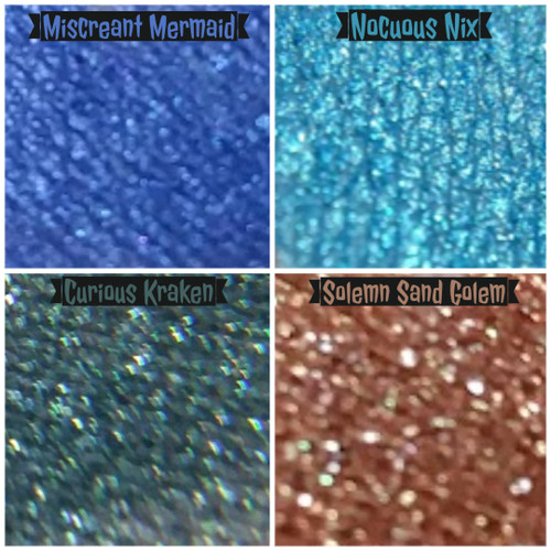 Misbegotten Myths Eyeshadow Collection (LE)  - set of 4