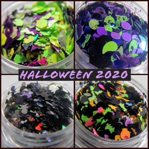 Halloween 2020 Glitter Collection (LE) - set of 4