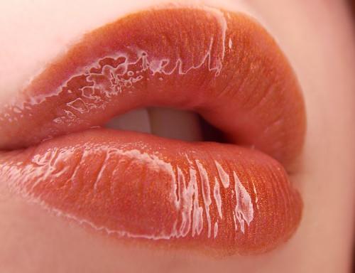 Maple (LE) multichromatic red/orange/yellow lip gloss