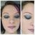 Tears in Rain - blue-grey duochrome eyeshadow