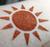 Nuclear Sunrise - orange -red eyeshadow