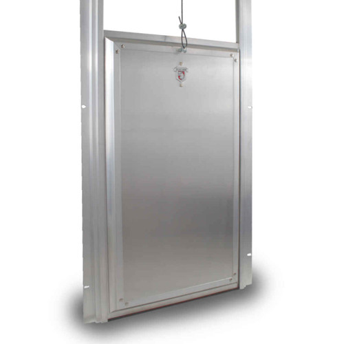 Kennel Clad Premium Insulated Guillotine Kennel Door
