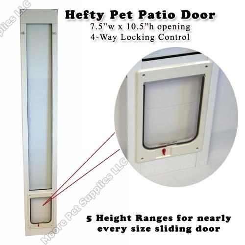 Ideal Hefty Pet Patio Pet Door Insert