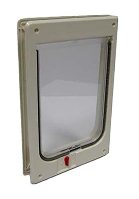 Ideal Hefty Cat Flap with 4-Way Locking Feature