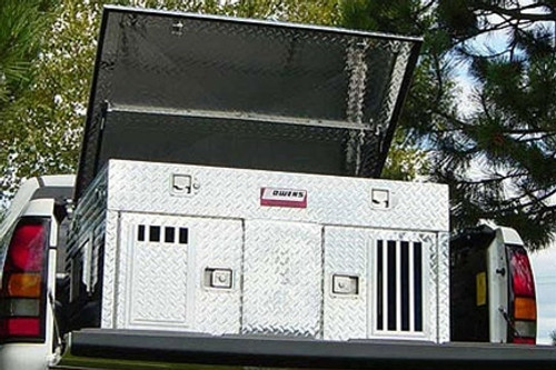 Hunter Dog Box - Double - With Storage