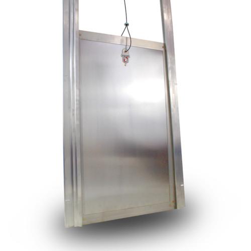 Security Boss Kennel Clad Standard Guillotine Door