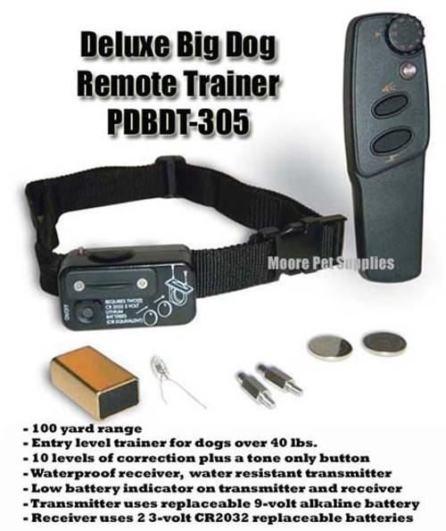 PetSafe Deluxe Big Dog Remote Trainer PDT00-13411