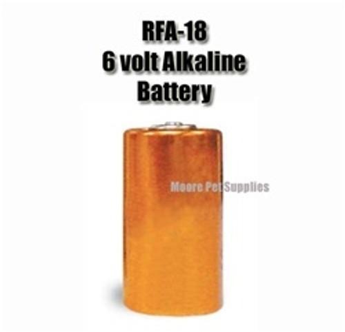 PetSafe RFA-18 Replacement Battery, 6-Volt Alkaline
