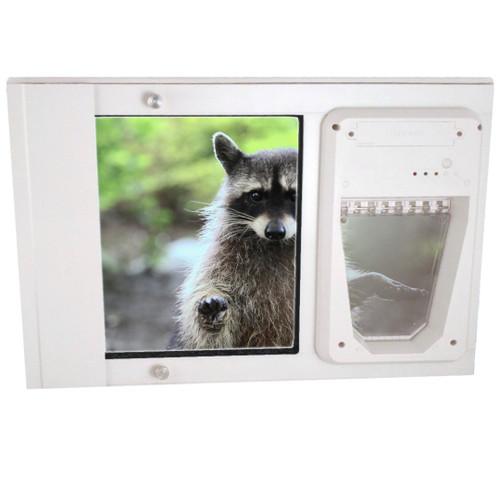 Petsafe Electronic Single Pane Sash Window Insert