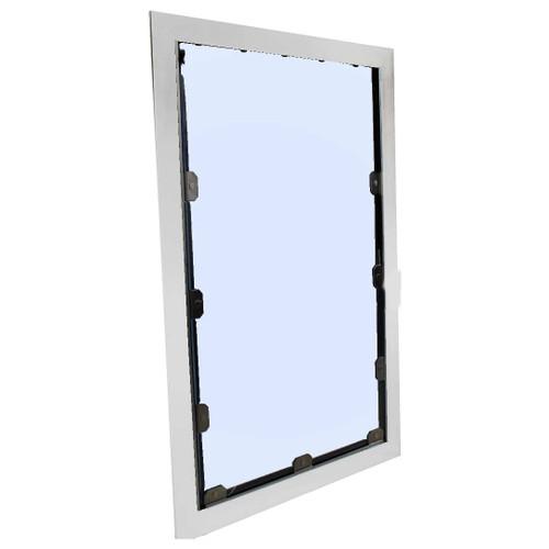 4-Sided Exterior Kennel Dog Door