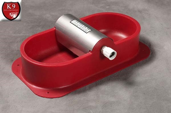 Polyethylene Pan Double Waterer with Float
