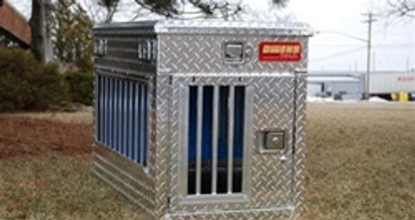 Hunter Series Single Compartment Dog Box With Storage