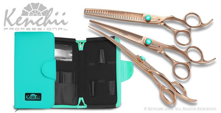 Kenchii Rosé three piece 7-inch set with KEL5Z case.