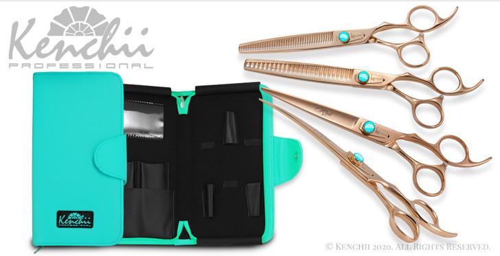 Kenchii Rosé four piece 7-inch set with KEL5Z case.