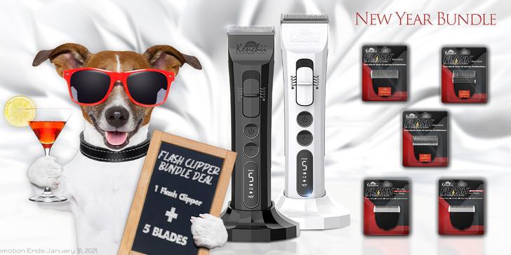 Kenchii Flash™ Digital Cordless Clipper | New Years Bundle