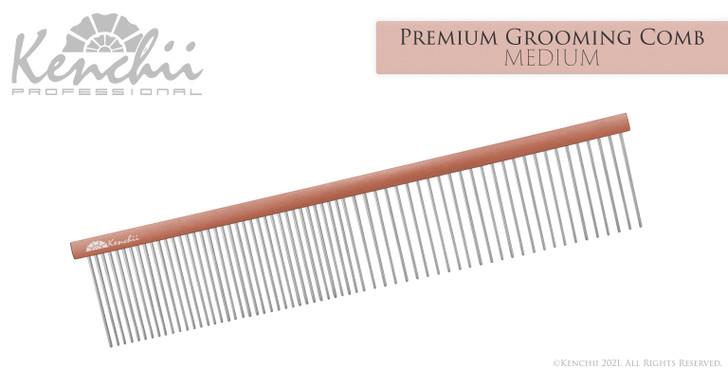 Premium Grooming Comb - Medium