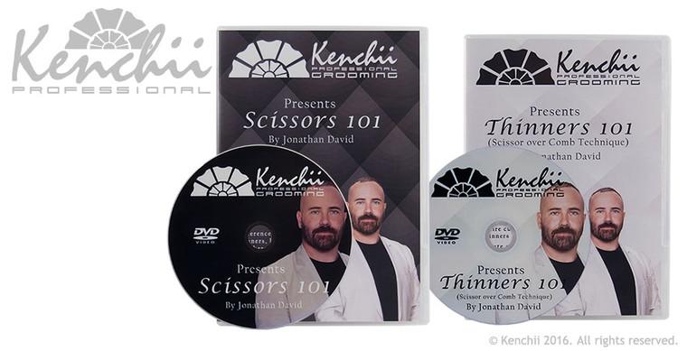 Jonathan David Scissors 101 and Thinners 101 2-disc DVD set