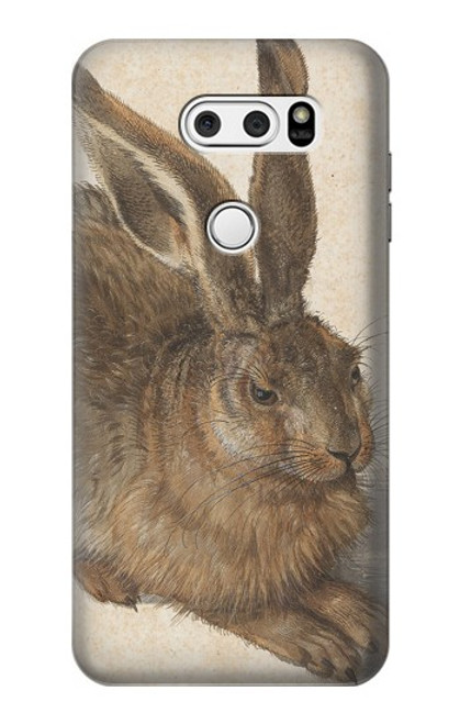 S3781 Albrecht Durer Young Hare Case For LG V30, LG V30 Plus, LG V30S ThinQ, LG V35, LG V35 ThinQ