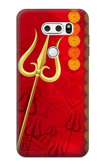 S3788 Shiv Trishul Case For LG V30, LG V30 Plus, LG V30S ThinQ, LG V35, LG V35 ThinQ
