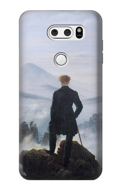 S3789 Wanderer above the Sea of Fog Case For LG V30, LG V30 Plus, LG V30S ThinQ, LG V35, LG V35 ThinQ