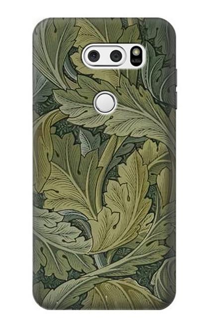 S3790 William Morris Acanthus Leaves Case For LG V30, LG V30 Plus, LG V30S ThinQ, LG V35, LG V35 ThinQ