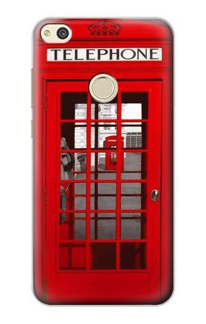 S0058 British Red Telephone Box Case For Huawei P8 Lite (2017)