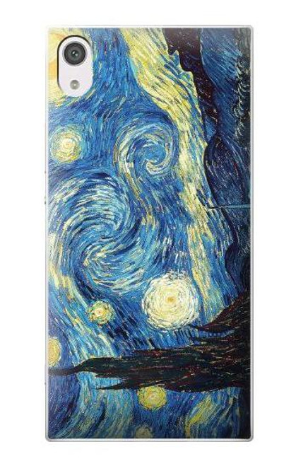 S0213 Van Gogh Starry Nights Case For Sony Xperia XA1
