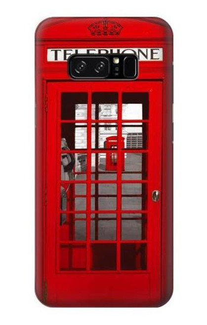 S0058 British Red Telephone Box Case For Note 8 Samsung Galaxy Note8