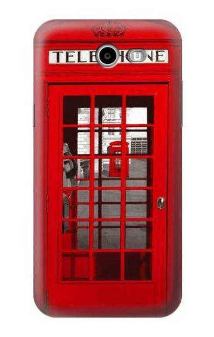 S0058 British Red Telephone Box Case For Samsung Galaxy J7 (2017)