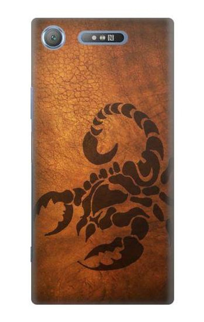 S0683 Scorpion Tattoo Case For Sony Xperia XZ1