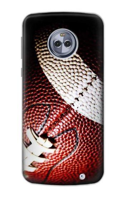 S0062 American Football Case For Motorola Moto X4