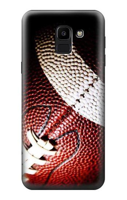 S0062 American Football Case For Samsung Galaxy J6 (2018)