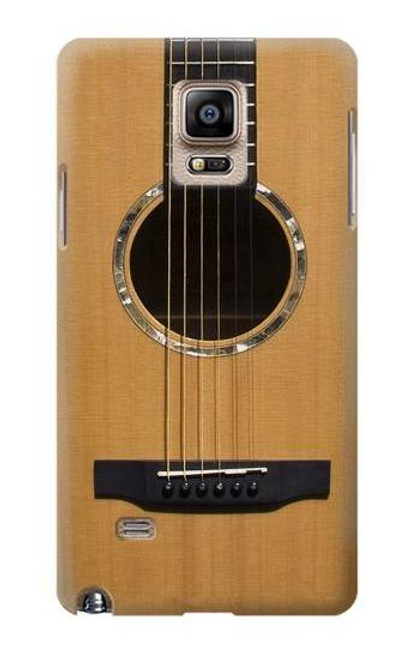 S0057 Acoustic Guitar Case For Samsung Galaxy Note 4