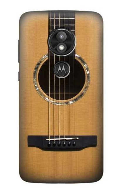 S0057 Acoustic Guitar Case For Motorola Moto E Play (5th Gen.), Moto E5 Play, Moto E5 Cruise (E5 Play US Version)
