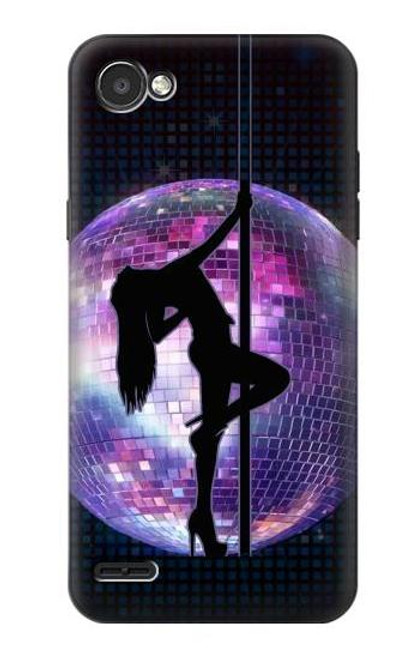 S3284 Sexy Girl Disco Pole Dance Case For LG Q6