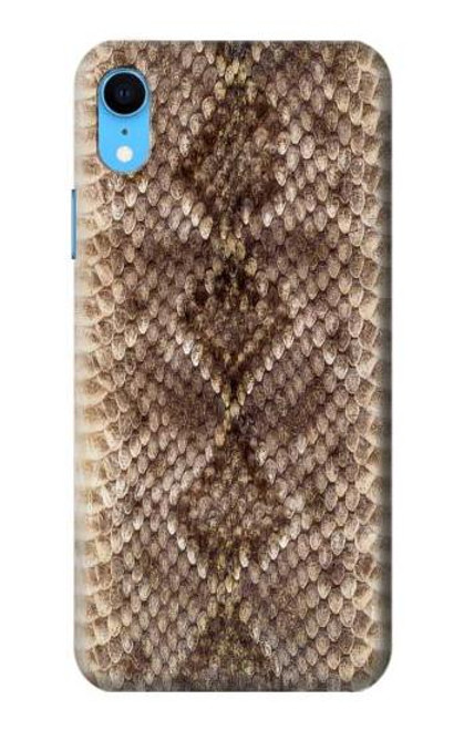 S2875 Rattle Snake Skin Graphic Printed Case For iPhone XR