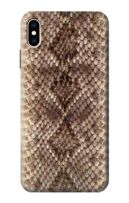 S2875 Rattle Snake Skin Graphic Printed Case For iPhone XS Max