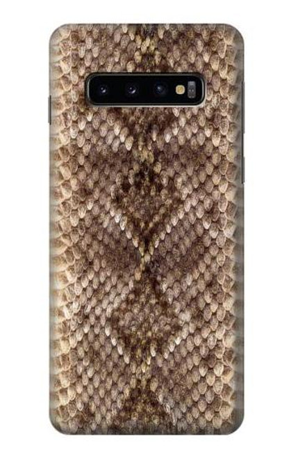S2875 Rattle Snake Skin Graphic Printed Case For Samsung Galaxy S10